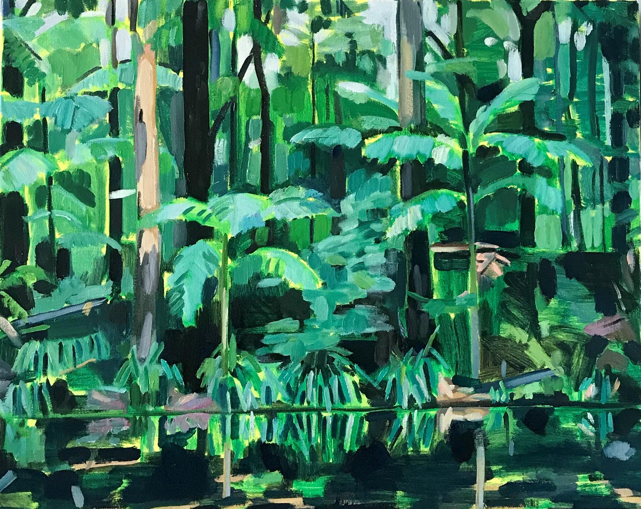 Tallowood Point 1 71 x 57cm oil on canvas