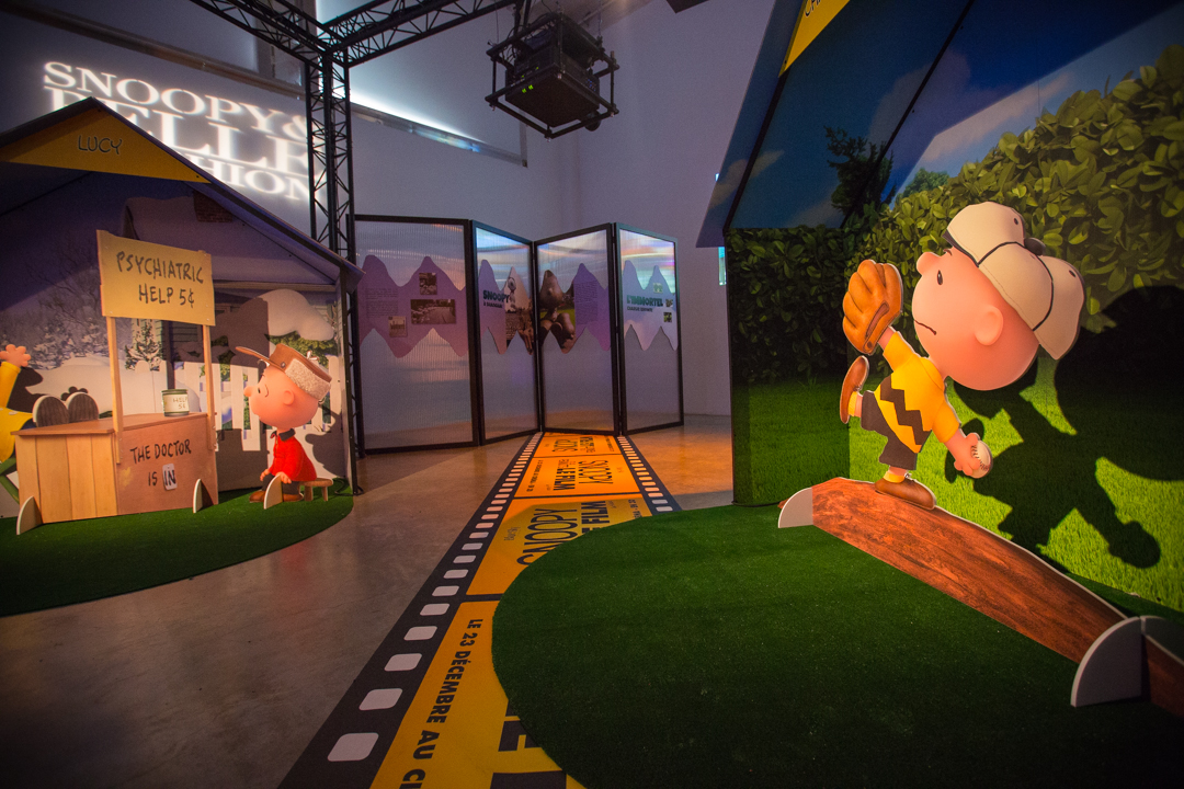 The Peanuts Movie Exhibition