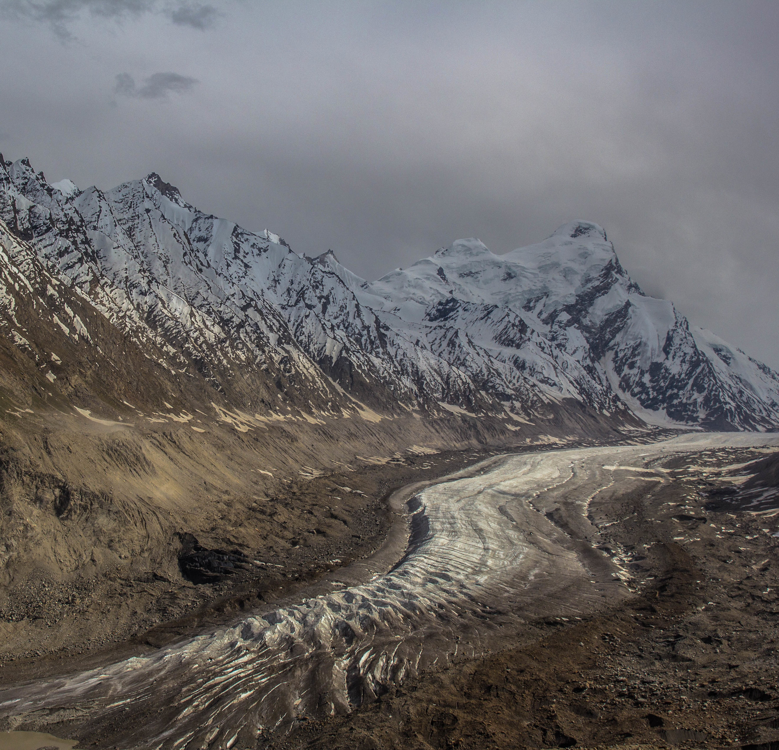 """This glacier used to come up to the road connecting Kargil to Zanskar,"" Stanzin Chotchan recalled, during an interview in the quest of finding the last Mail Runners of India.   Chotchan   runs an expedition company in Leh. Once the glaciers dry up, the only source of water in Ladakh will disappear."