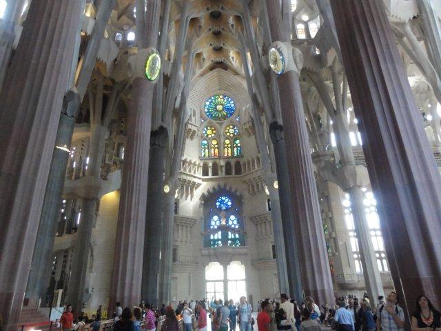 La Sagrada Famillia, Barcelona, Spain