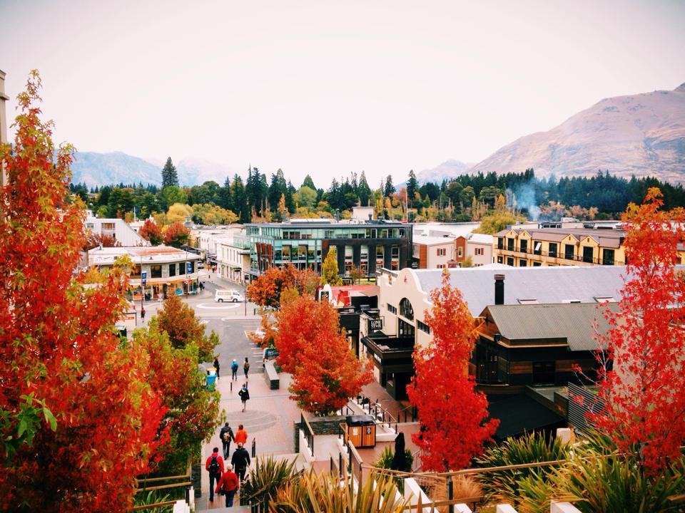 Autumn in April - Queenstown