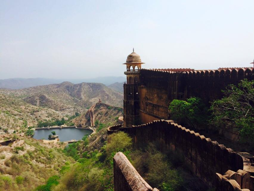 All the way up - Jaipur