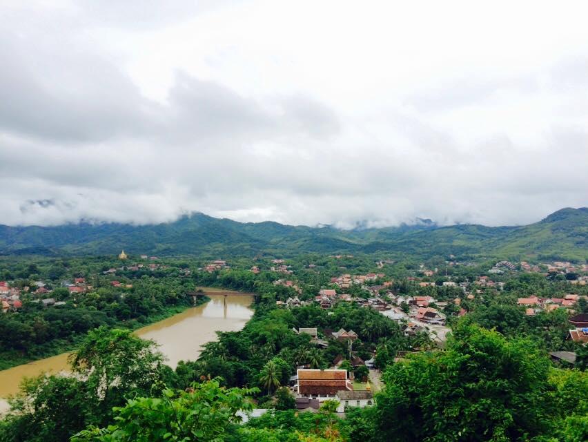 Views of the Mekong from Luang Probang