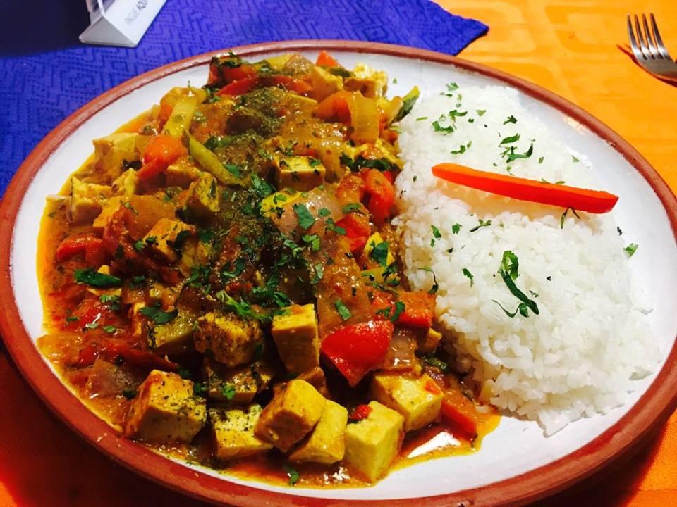 Tofu curry...holy moly