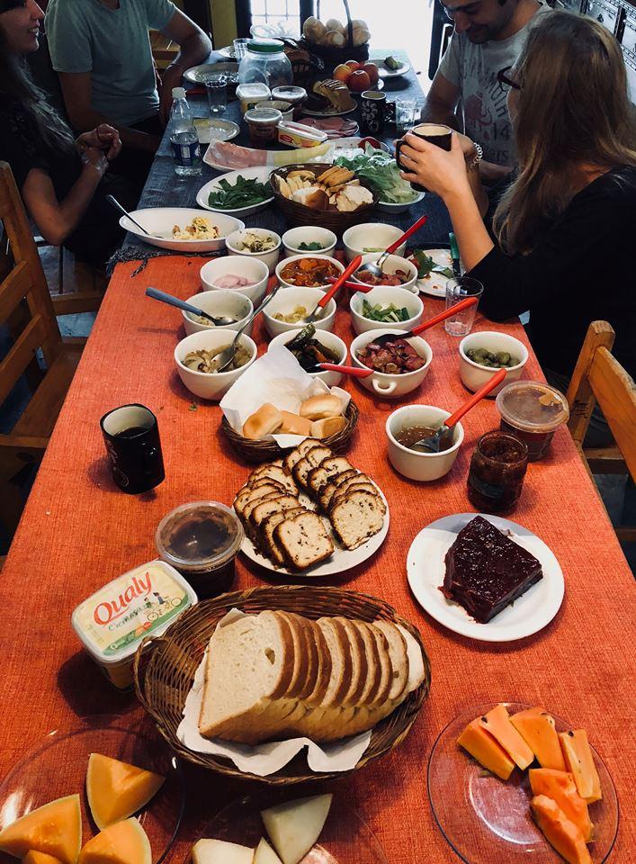 That breakfast spread tho