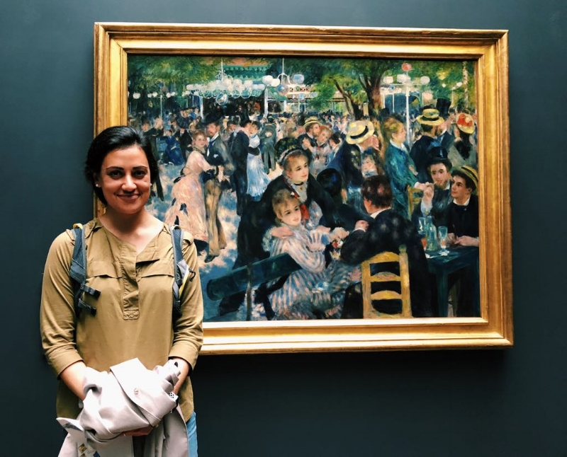 Just at the D'Orsay Museum enjoying some Renoir <3