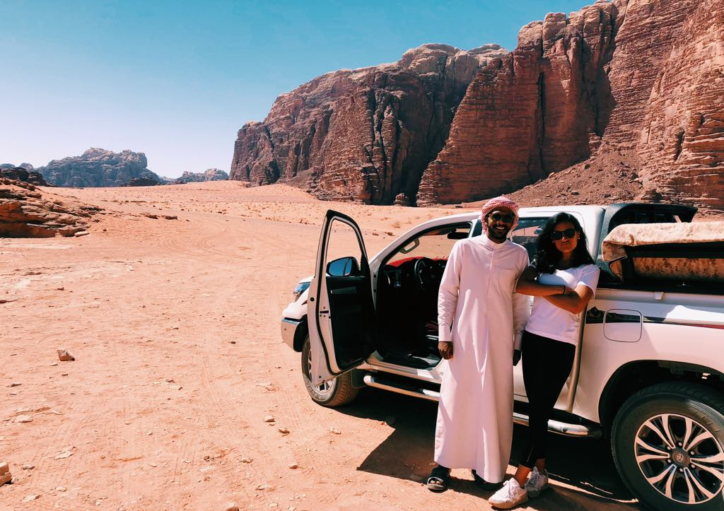 Jeep excursions in Wadi Rum