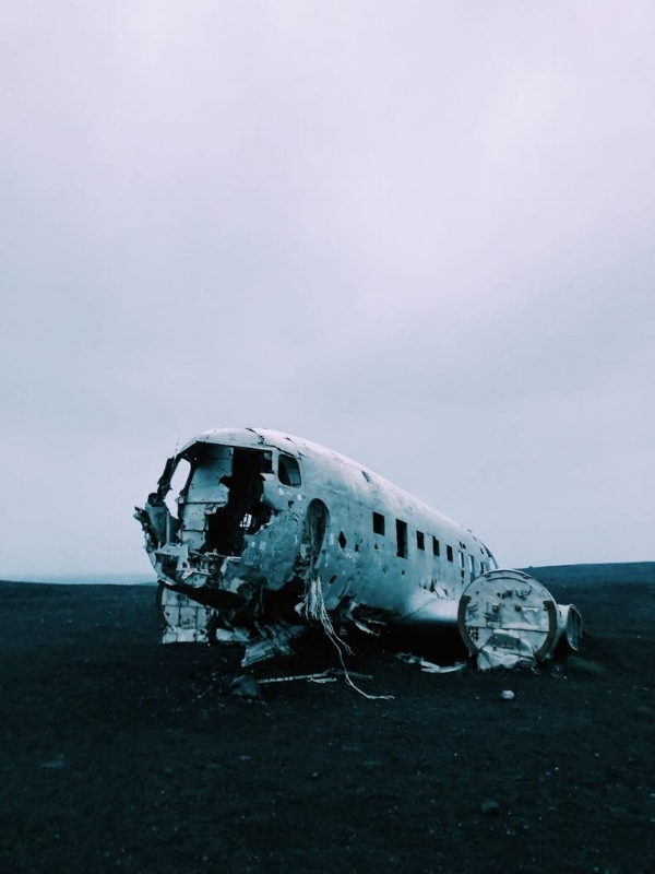 The most insane hike to and from this plane wreck