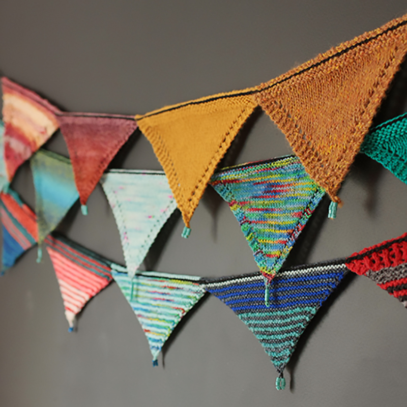 Swatchtastic bunting