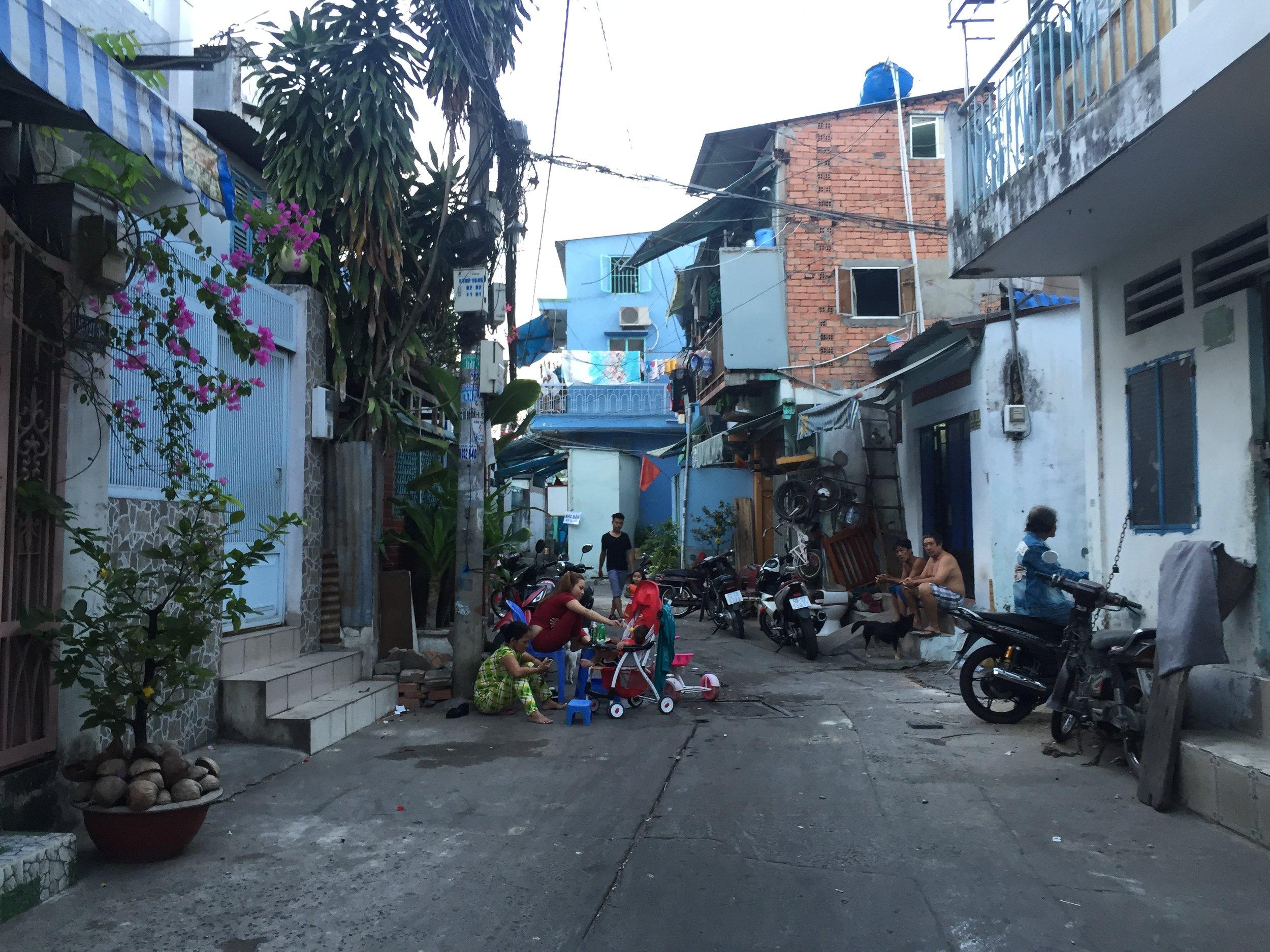 Back streets of Saigon