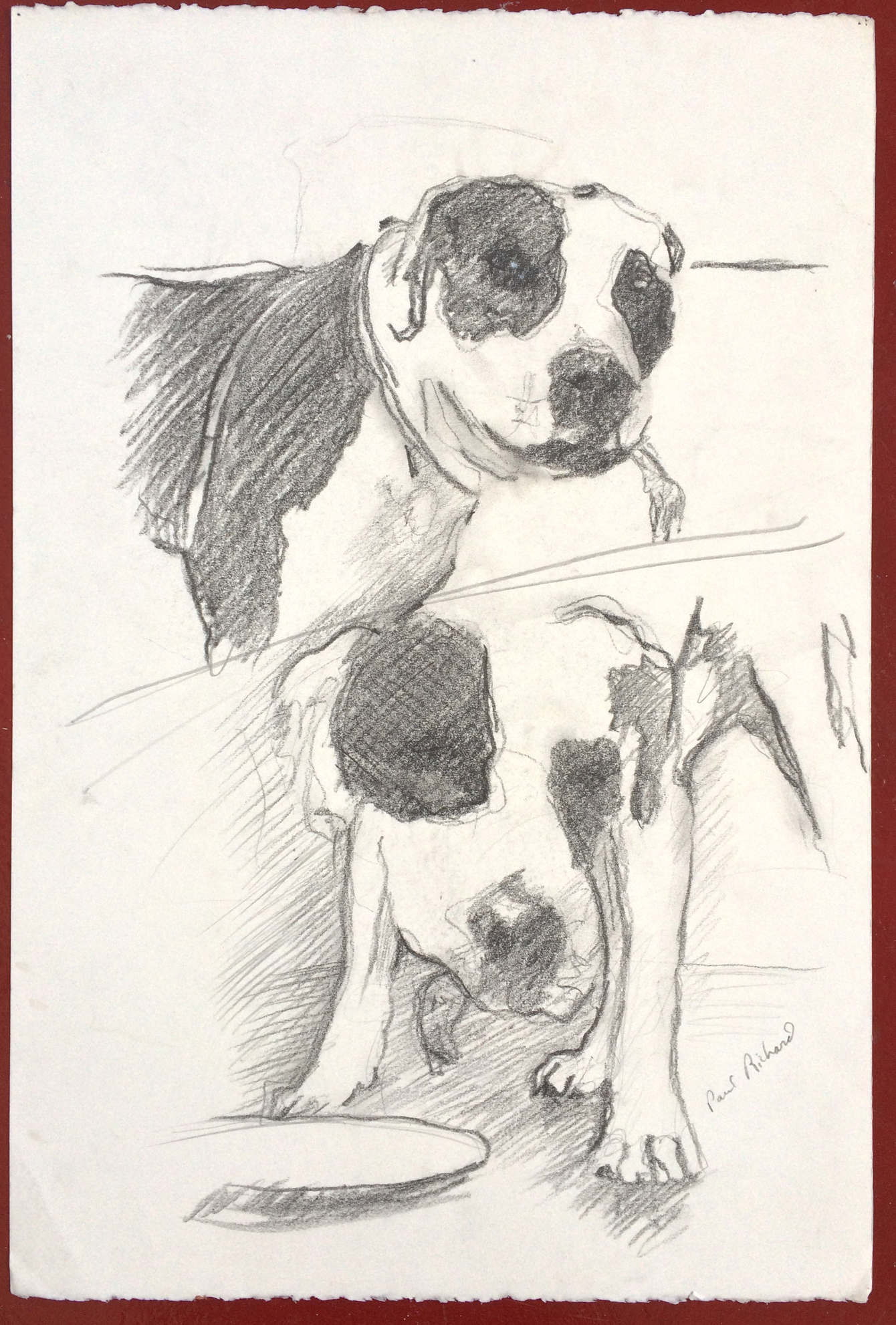 "Untitled(Ranger), Pencil on Paper, 15""x 22"", 2010"