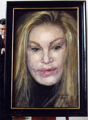 """Joceylyn, Oil on Canvas, 68""""x 50"""", 2009"""