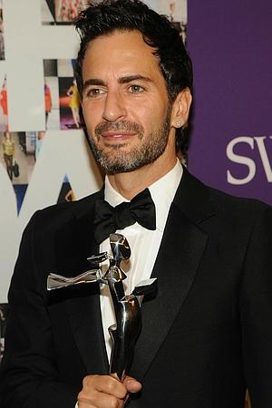 Designer Marc Jacobs (drip portrait featured above)