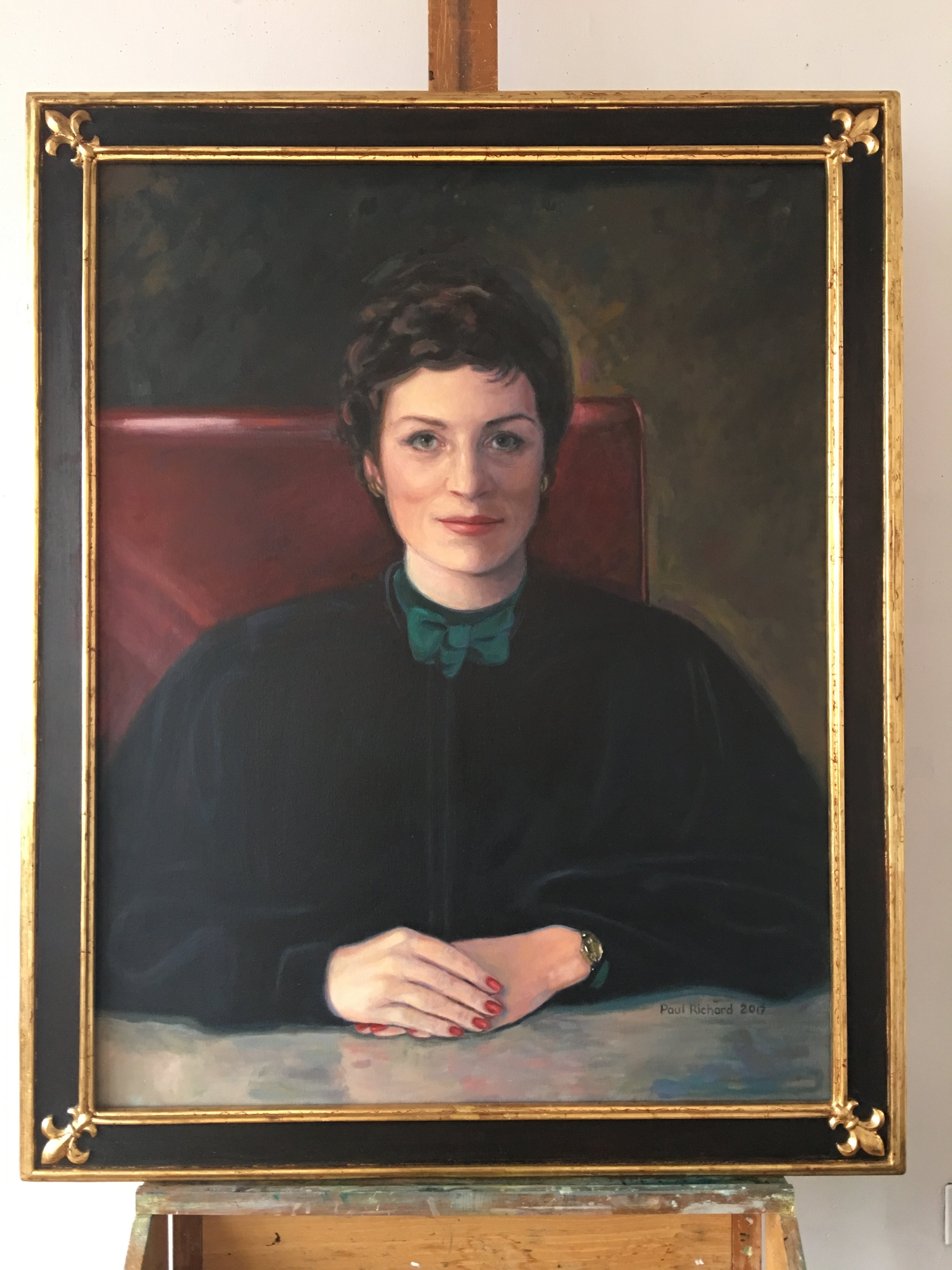 Hon. Renee R.Roth — Oil on canvas 48 x 39
