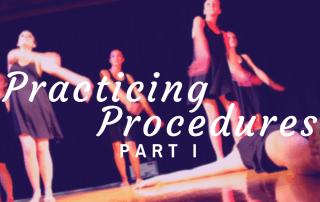 Procedures Part I