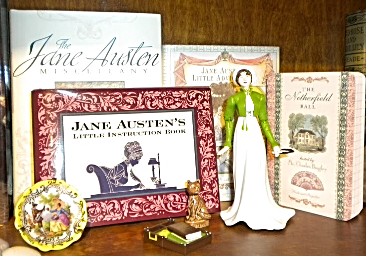 Yes, it's a Jane Austen shrine. Doesn't everyone have one?