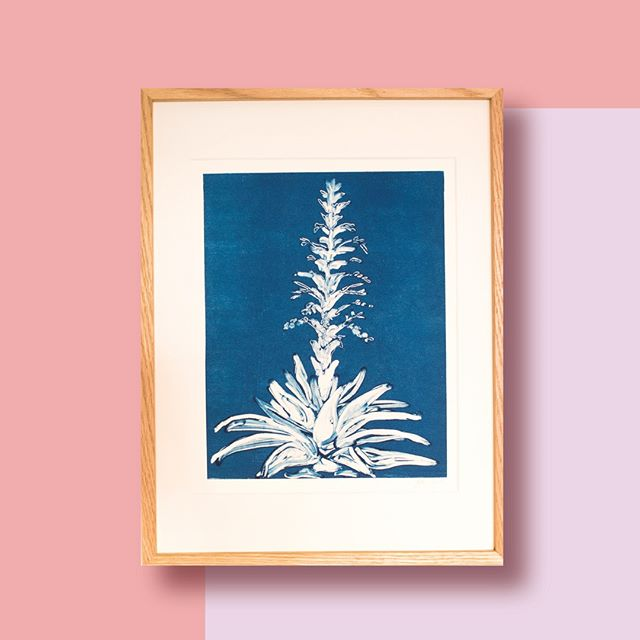 Beautiful Ginger Plant. This is probably the flower that is the true inspiration for starting Bouquet Residence.  #bouquet_residence #handmadeartwork #monoprint