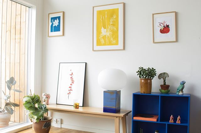 Style your home with unique handmade artwork from Bouquet residence  #bouquet_residence #handmadeartwork #collage #monoprint
