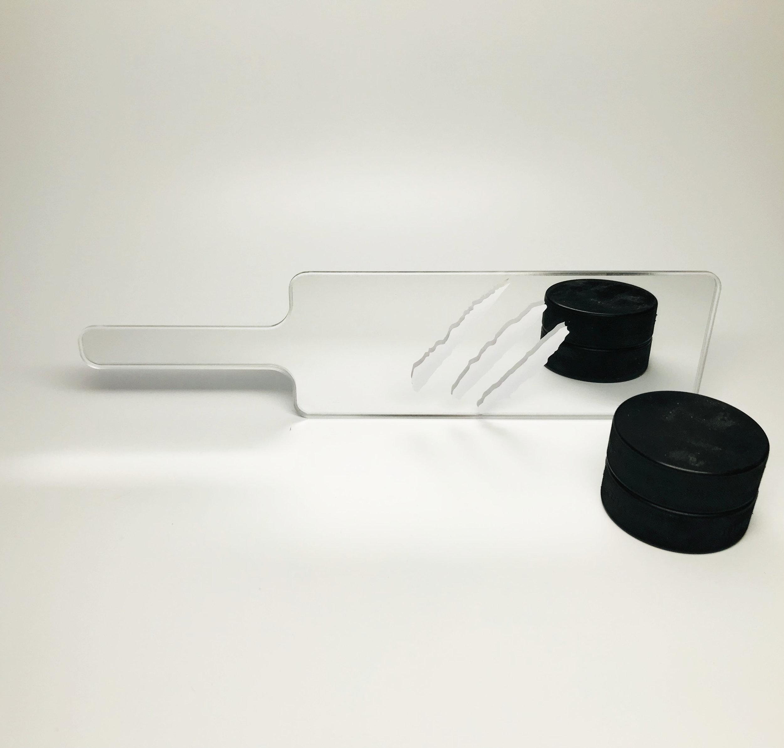 $55 - mirror acrylic/vinyl