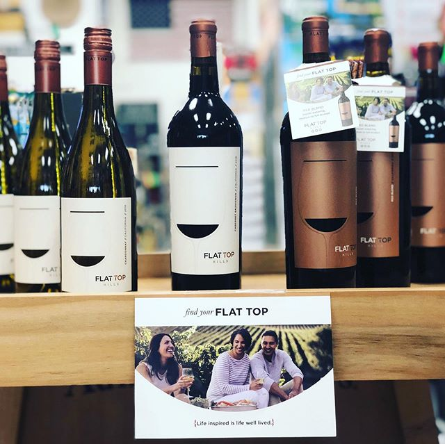 A Fourth-Generation Mondavi Family Winery tasting today at @montpelierliquors from 4:00-7:00 pm.  Named after the remote hills with flat summits where the Mondavi family gathered as children, Flat Top Hills wines are an achievement of the imagination, combining modern sensibility with a winemaking tradition that dates back four generations. Meticulously crafted with keen attention to quality and an approachable style, the fruit-forward wines offer full body and soft structure that invites consumers to relax into each moment.  Live Inspired. Made with meticulous care and attention to detail, Flat Top Hills wines highlight the best characters of the vineyards and the grape varietals. Gentle handling and natural winemaking allow the quality of the vineyards to shine, showcasing the essence of the fruit and true varietal expression.  #flattophillswine #mondaviwinery #fridaytasings #montpelierliquors #flattopwines #cheers #winetastingfridays