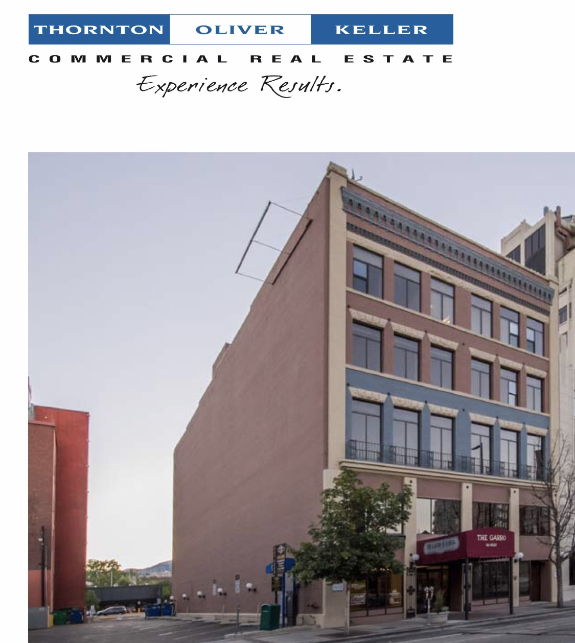 The Garro building on Jefferson street was one of the properties sold. Phot via TOK flyer.