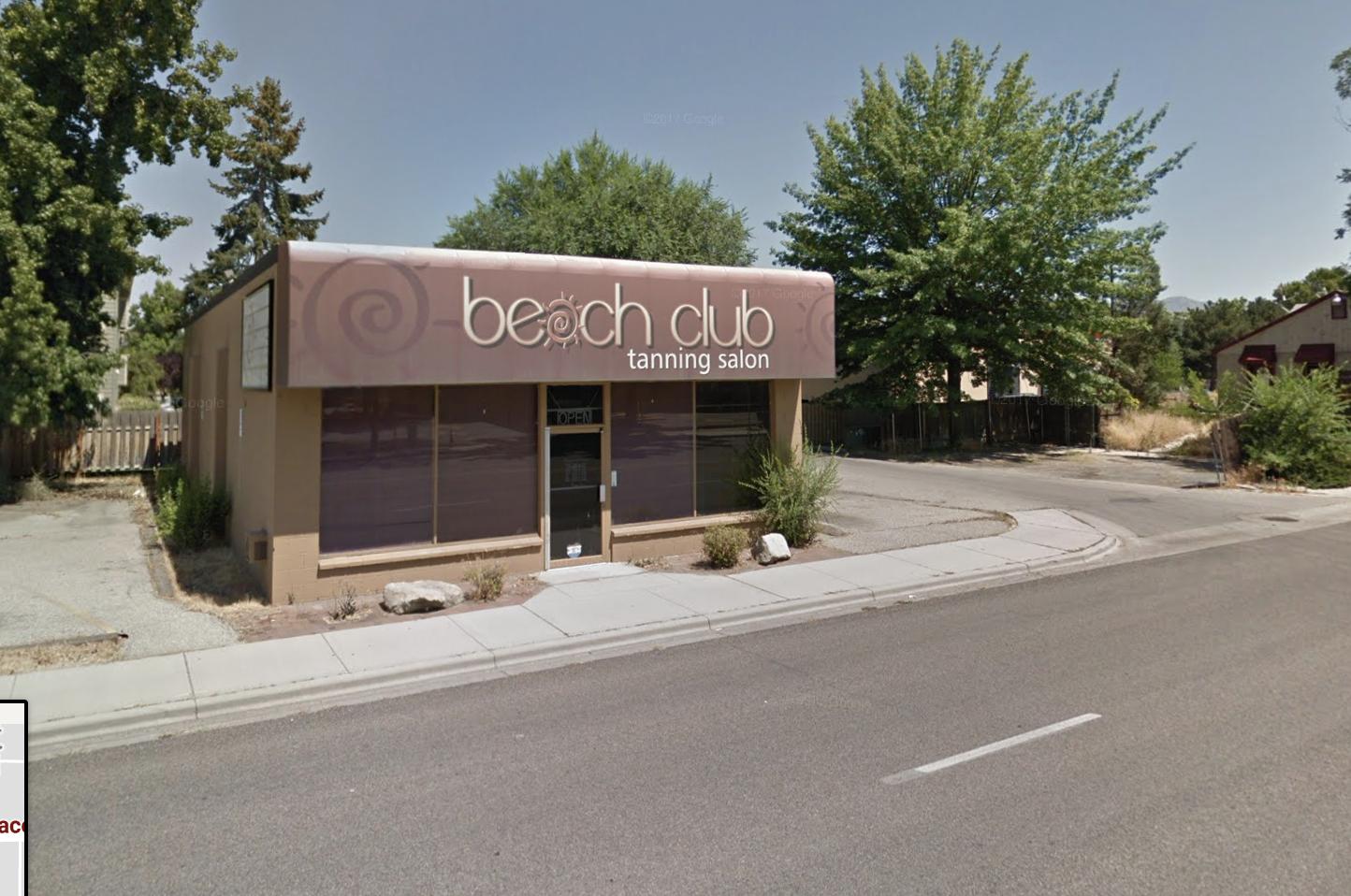 Old Beach Club Tanning via Google Earth