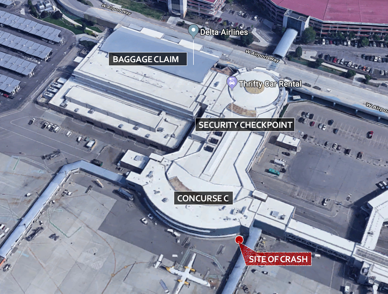 Google Earth image, BoiseDev graphic
