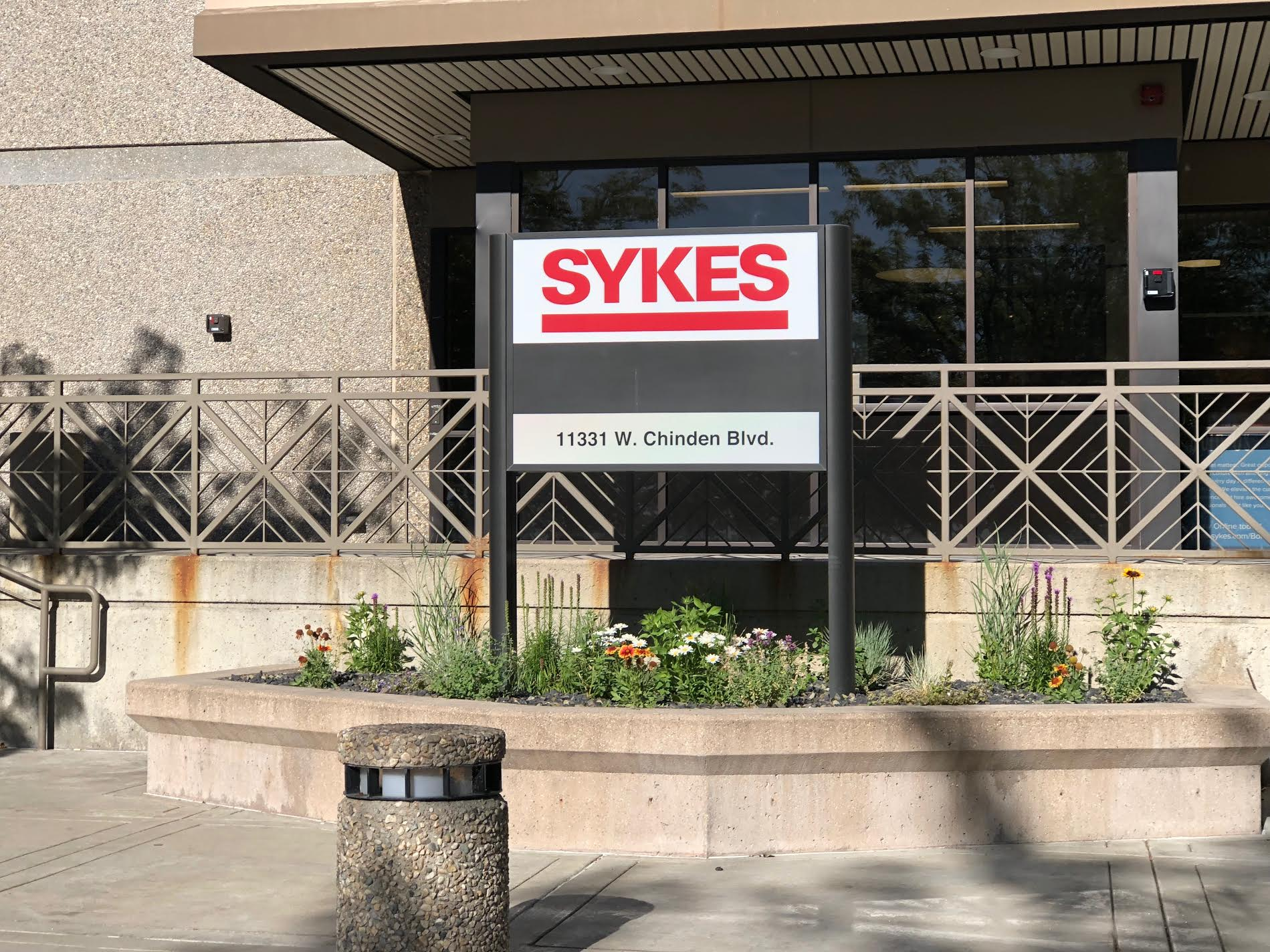 The SYKES Boise call center on Chinden Tuesday evening. Photo: Don Day/BoiseDev