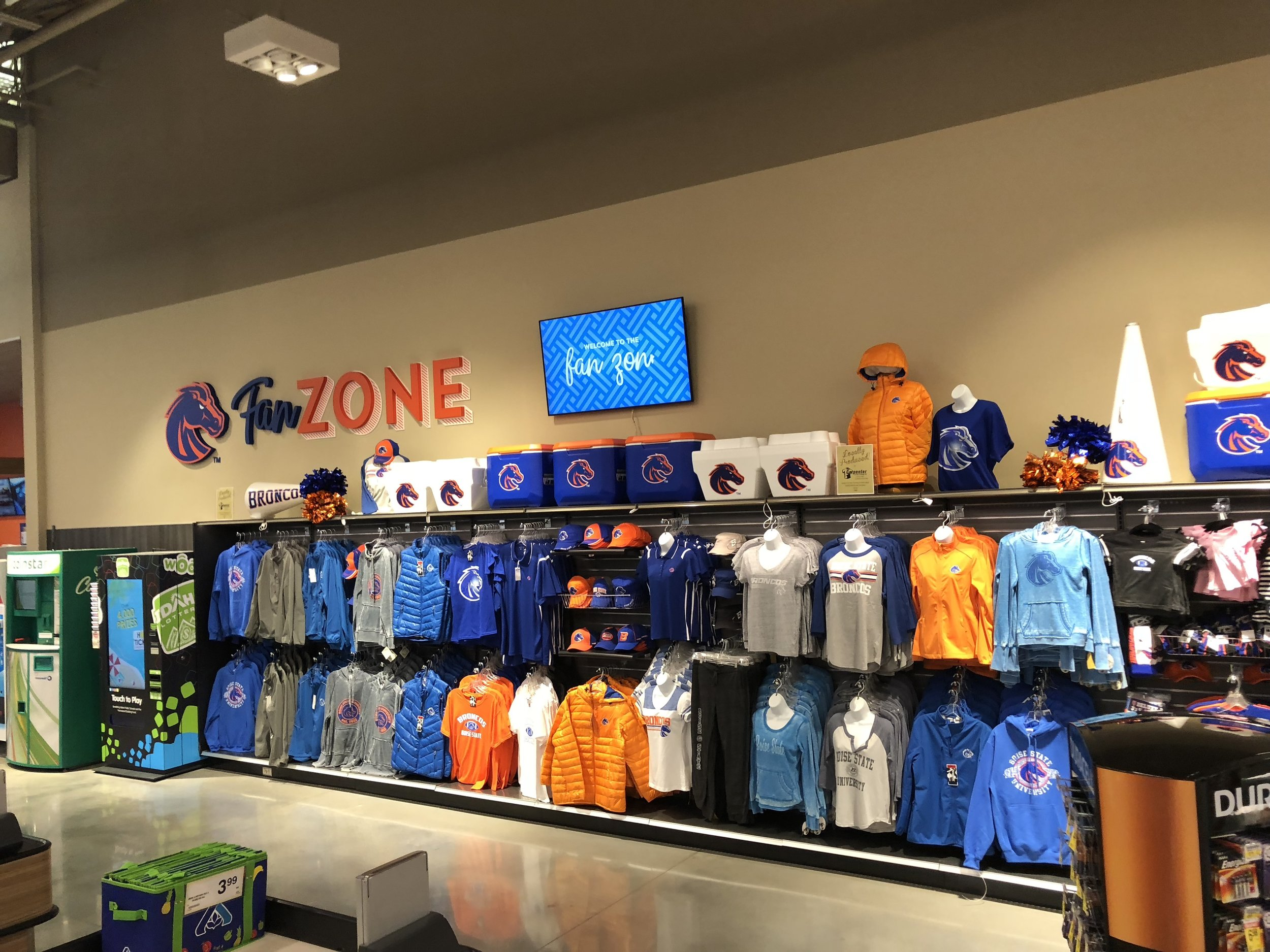 Boise State fan zone