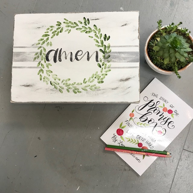 LARGE PROMISE/KEEPSAKE BOX   ED18