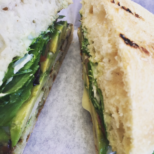 Pesto Chicken Sammie...Yum!
