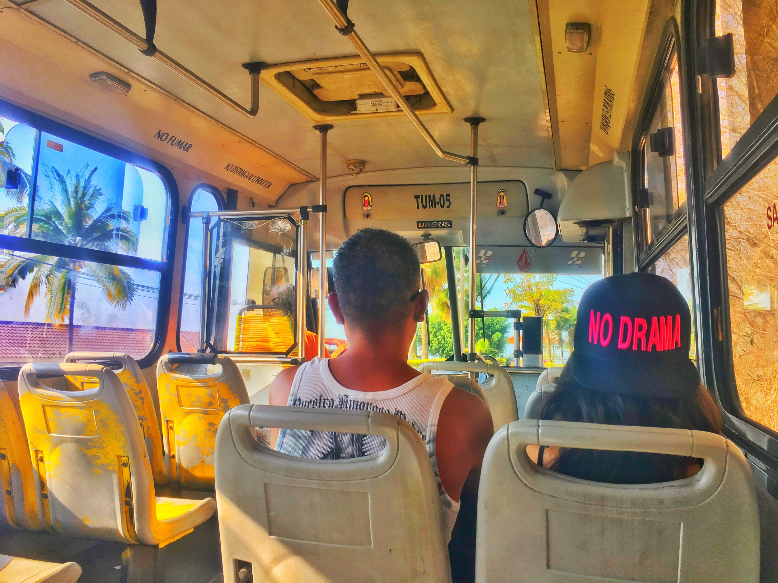 Local transportation available by bus or by taxi. Bus is 8 pesos, taxis average 180 pesos from airport to downtown Puerto Vallarta.