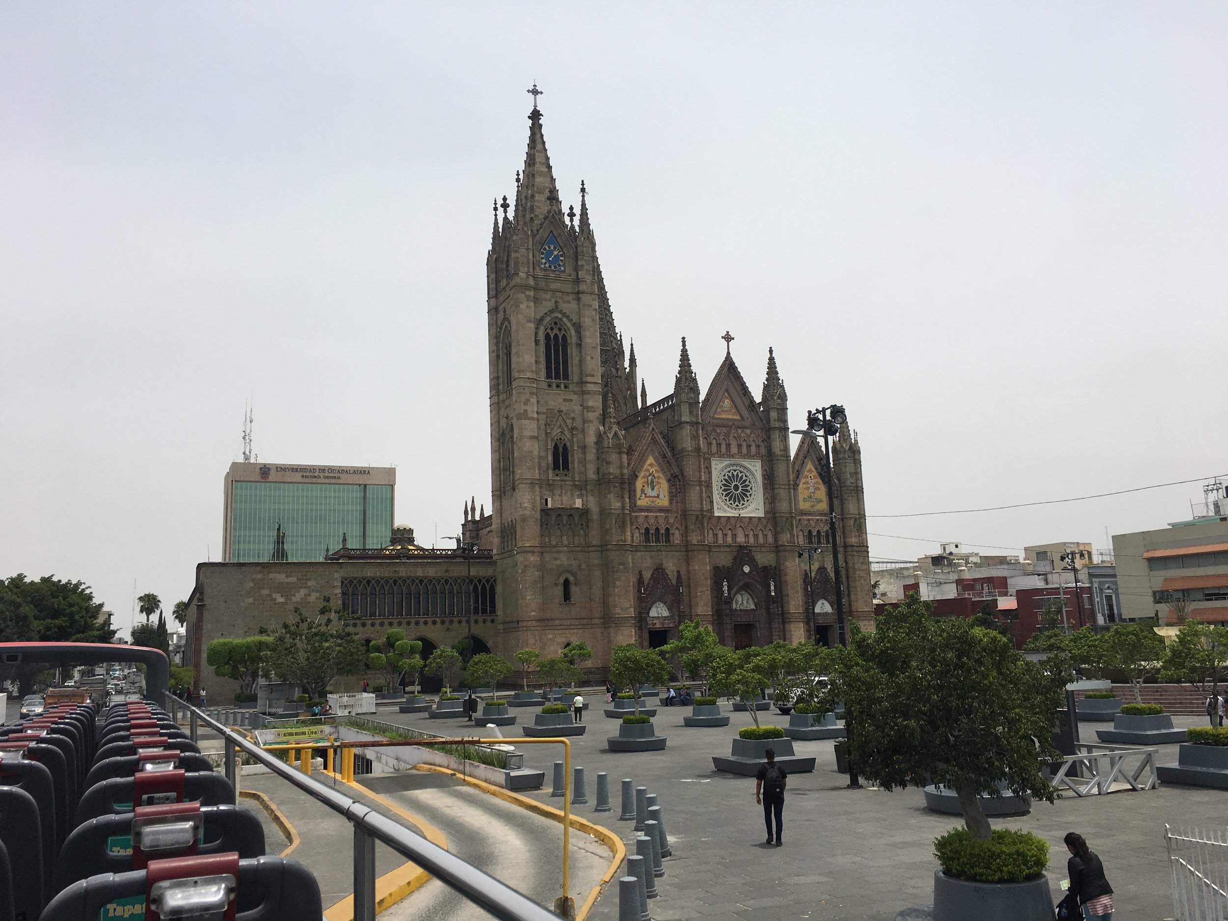 In 1818 an earthquake shook the city, causing the towers and the dome to collapse. These were replaced, but the new structures were destroyed by a subsequent earthquake in 1849, and was damaged by earthquakes again in 1932, 1957, 1979, 1985, 1995 and 2003.