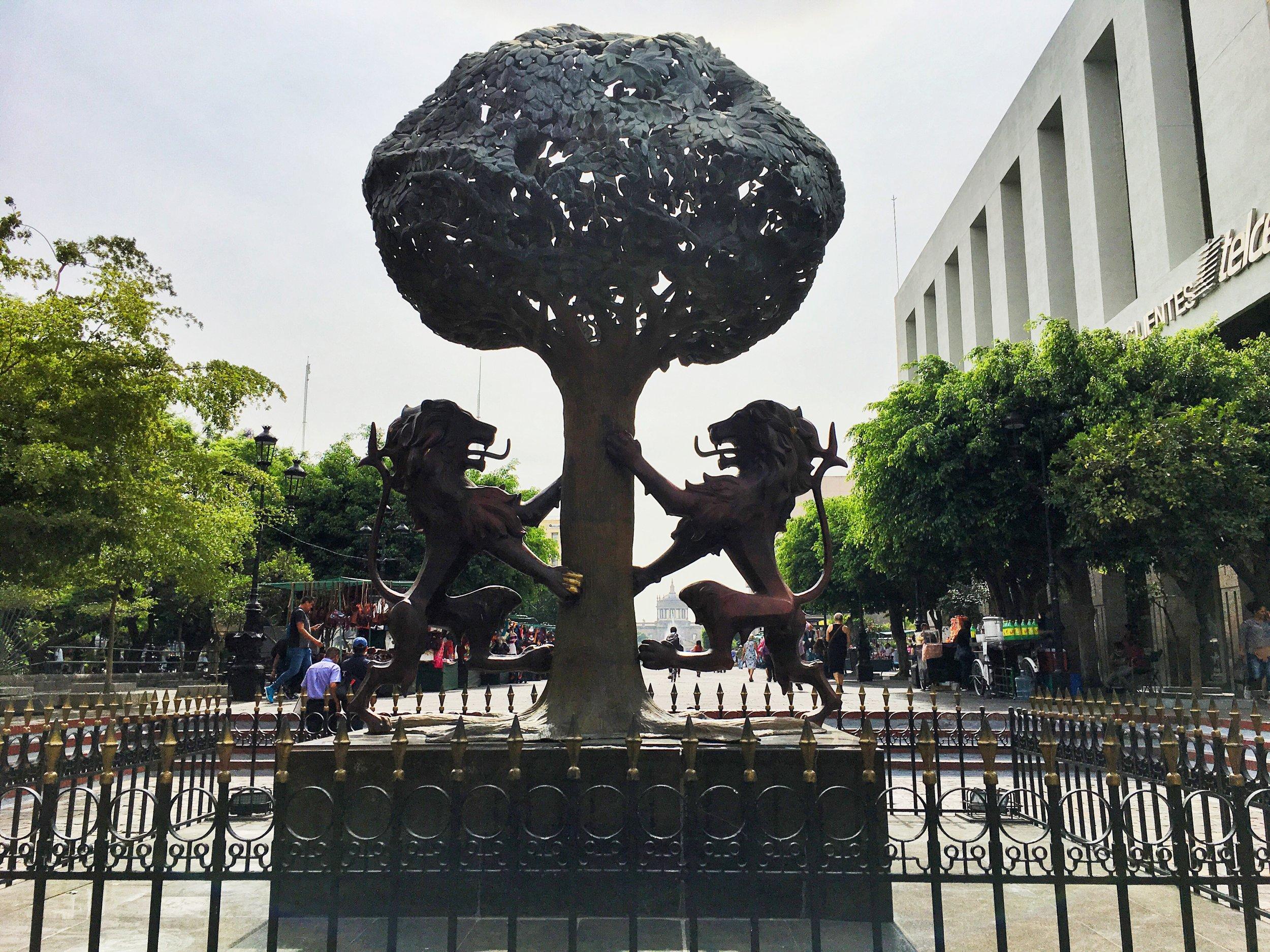 The icon designed to represent Guadalajara