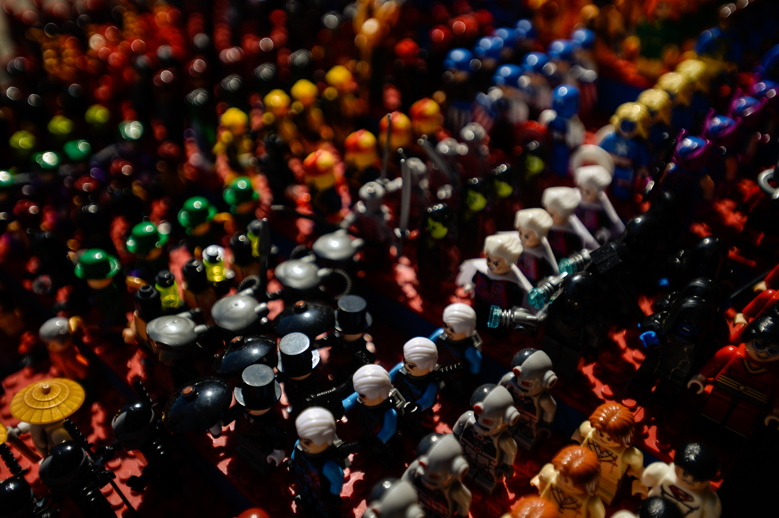 French Market Legos