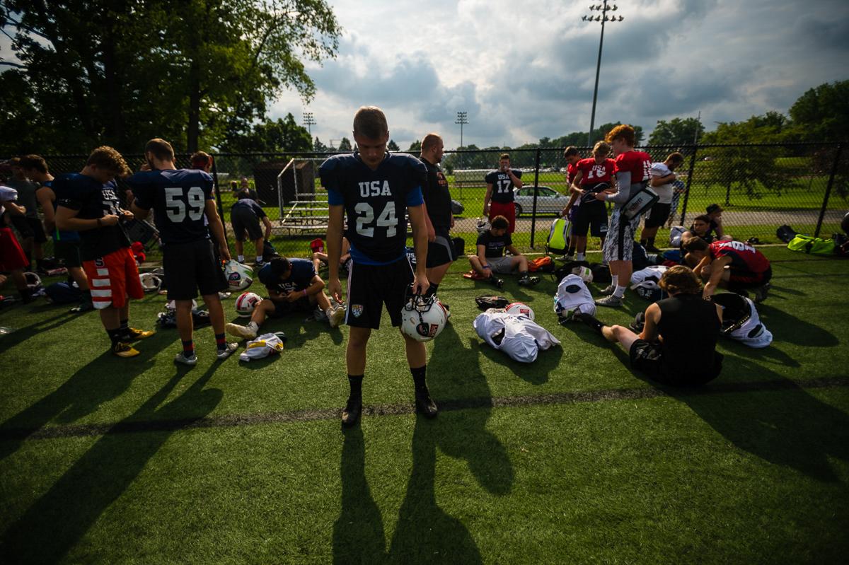 USA Football Developement Camp.