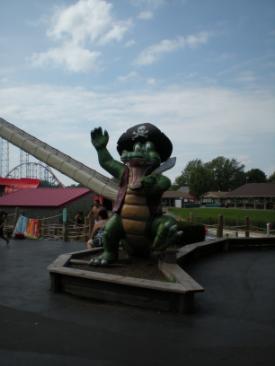Return raft, or crocodile eat you!