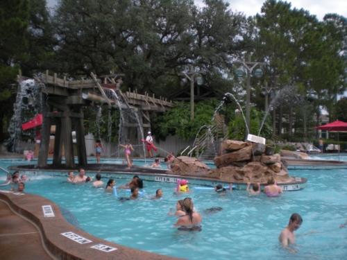 Old Man Island Pool at Port Orleans Riverside Resort, Walt Disney World, Florida