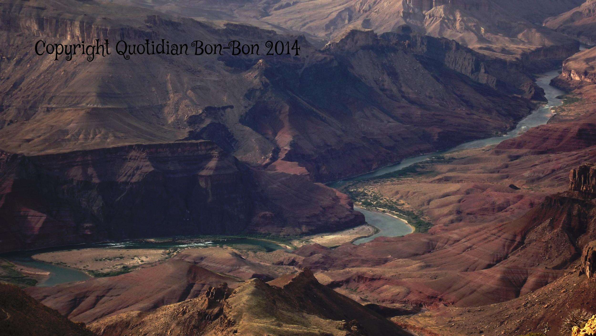The Colorado River within the Grand Canyon, Arizona