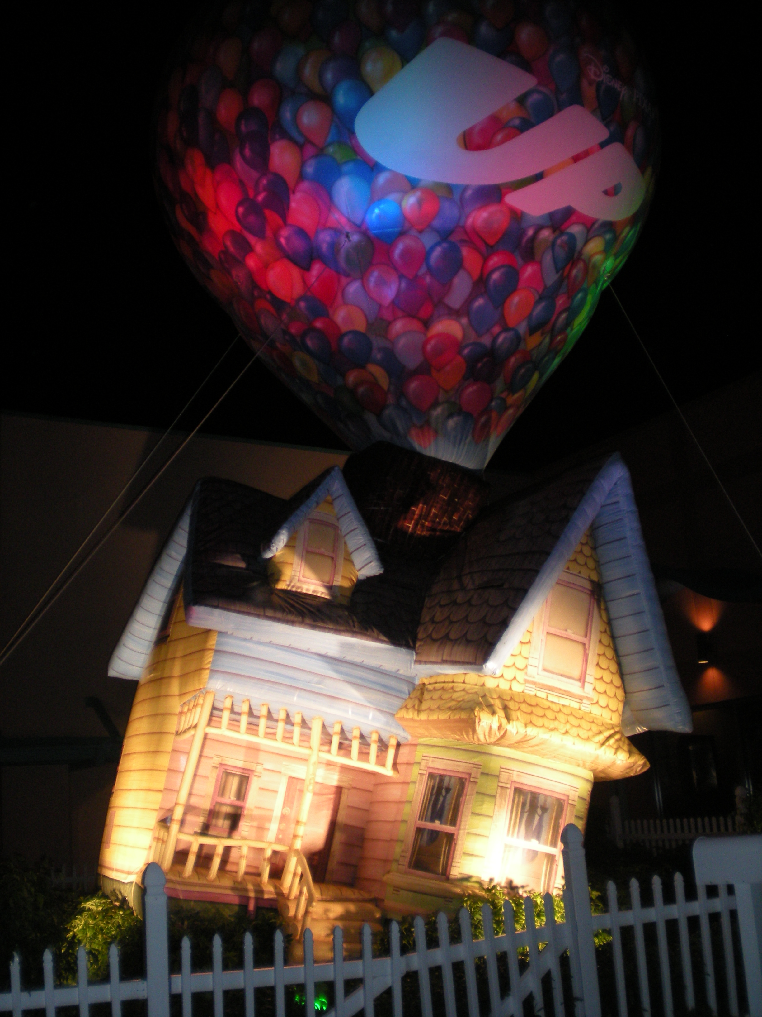 UP! Balloon at Downtown Disney, Florida -from author's collection