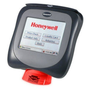 One popular brand of in store price check and barcode scan unit used in many stores today