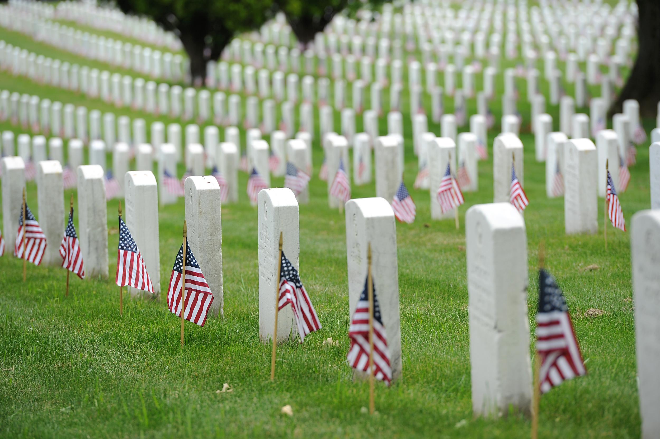 Arlington National Cemetary, VA -photo from Wikipedia