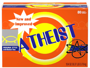 New and Improved Atheist - copyright free