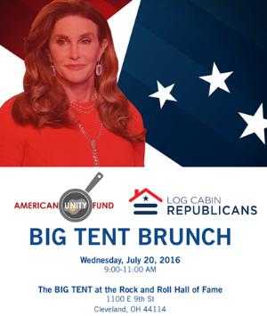 Log Cabin Republicans Event Advertisement