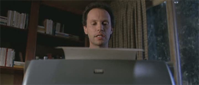 The night was... Billy Crystal in Throw Mama From the Train, 1988