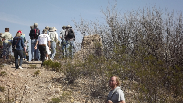Old Clanton Ranch ruins, San Pedro Riparian, Arizona