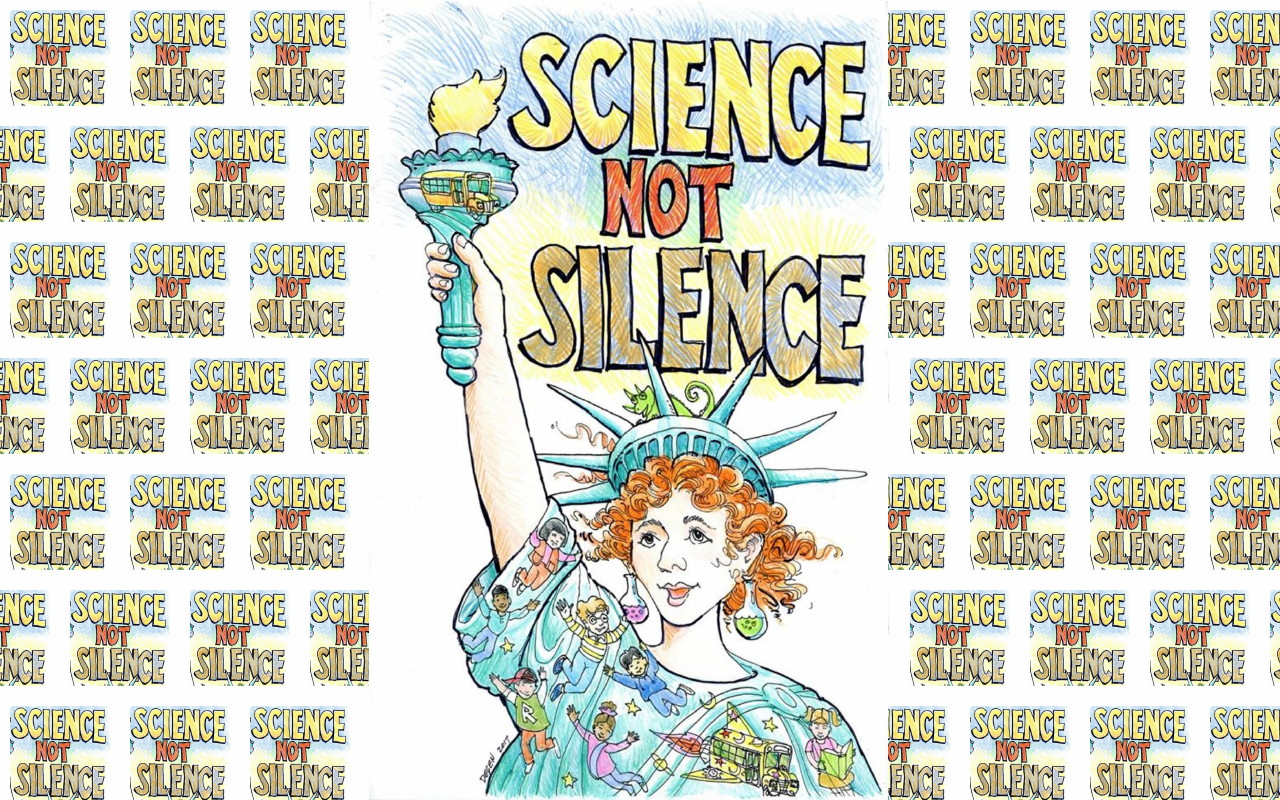 Don't even think of reproducing this one for any other purpose but as a sign for the March for Science. Not only is it copyright, but the artist donated to the March, just for the march, and he might not be so generous in the future if people steal his work. He has asked that you don't use it for fundraising either, even for the event.