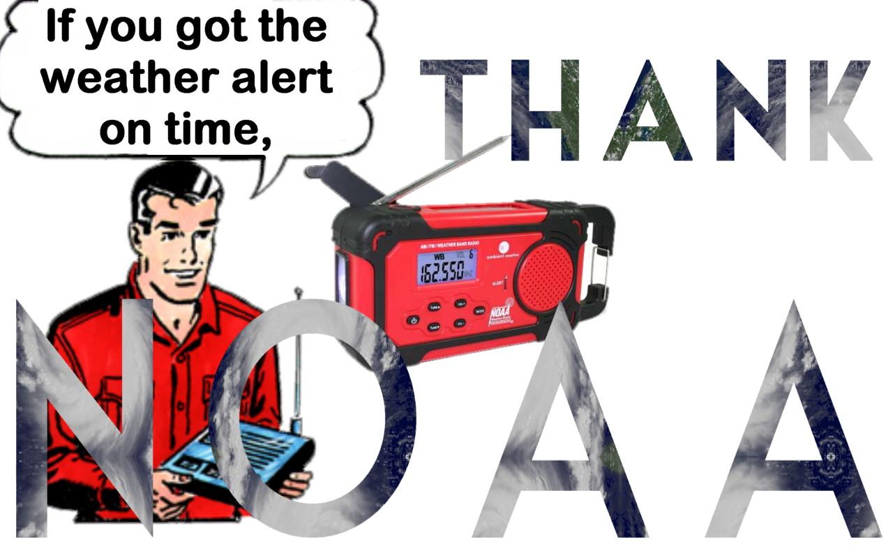 Thank NOAA