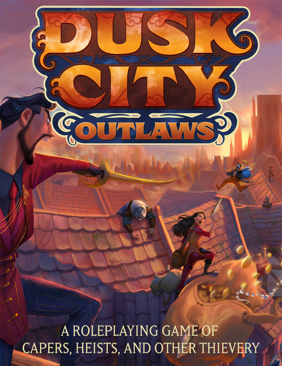 Order Through This Site and Also Receive the PDFs - If you purchase your physical copy of the Dusk City Outlaws box set from ScratchpadPublishing.com, you will receive the PDFs of the core game through DriveThruRPG as a part of your order. Links to redeem your complimentary PDFs will be sent 24-48 hours after your copy of the game ships.