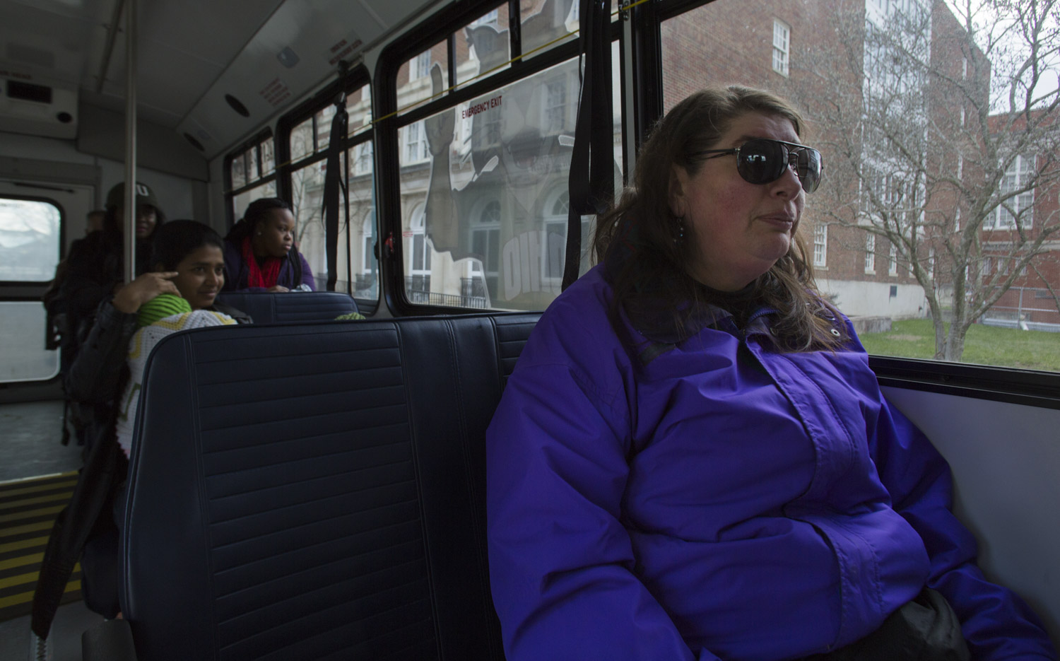 Christi is dependent on Athens Public Transit to run errands and attend frequent appointments for her mental and physical health. Because of her illness she is unable to maintain a job, and can't afford a car of her own on her Social Security Income